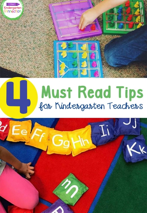 Must Read Tips for a Kindergarten Teacher
