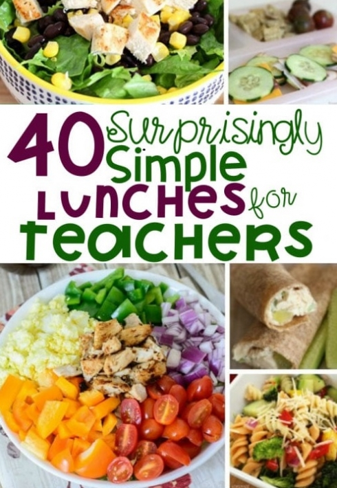 Simple Lunches for Teachers